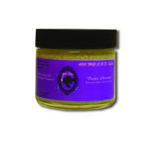 400mg Pain Cream - JaneVape Purple Chocolate Salve