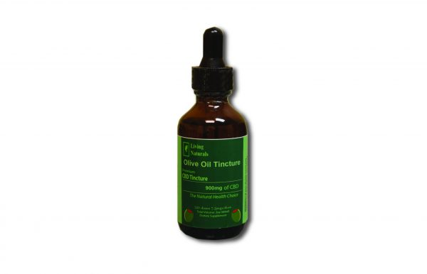 900mg CBD Tincture Olive Oil, 2 fl oz/ 60ml